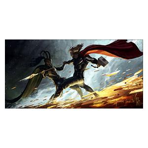Thor. Размер: 120 х 60 см